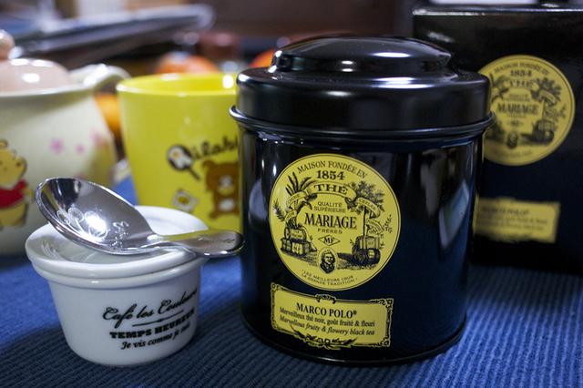 マリアージュフレールの紅茶
