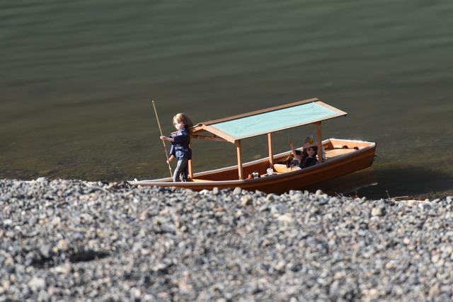 嵐山の屋形船