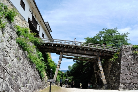 彦根城入り口あたり