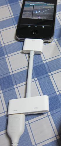 Apple Digital AVアダプタ