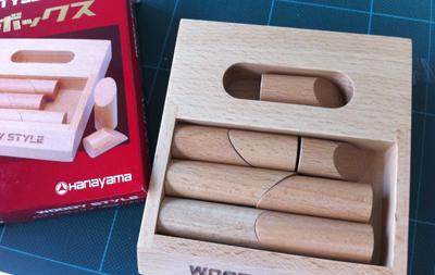 木製puzzle